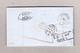Schweiz 1863-05-06 Chaux-de-Fonds Faltbrief Nach Leipzig Mischfrankatur Strubel 40Rp Und Sitzende 10Rp Attest Guinand - Lettres & Documents
