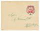 """""""AKONOLINGA"""" : 1908 10pf Canc. AKONOLINGA On Envelope To GERMANY. Signed BOTHE. Superb. - Deutschland"""