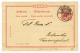 "1890 GERMANY P./Stat 10pf Datelined ""Am Bord Der ELOBY"" Canc. KAMERUN/BIAFRAKÜSTE To BIBUNDU. Small Part Of Name Er - Non Classés"