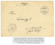 """AMBOLANDBAHN"" : 1914 KARIBIB + VERKEHRS ABTEILUNG/ 1 ZUG On Envelope To AIMAB. Verso, OUTJO. Vf. - Alemania"