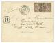 1887 COLONIES GENERALES 25c(x2) Obl. LIBREVILLE GABON Sur Enveloppe RECOMMANDEE Pour La FRANCE. TTB. - Frankreich (alte Kolonien Und Herrschaften)