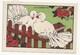 CHROMO - ANIMAUX HUMANISÉS - ILLUSTRATEUR : RAY LAMBERT - LA CAUSETTE - PUBLICITÉ FARINE LACTÉE  SALVY - PIGEONS - Trade Cards