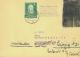 1952, Postkrieg, 10 Pf. Luther U. 10 Pf. Dt.Kriegsgefangene Diese Geschwärzt Auf Nachsende-Brief Von Starnberg... - Briefmarken