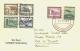 1937, 1.SAF  Bordpost Auf Brief - Timbres