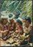 °°° 1739 - TAHITI - PREPARATION OF FOOD A TAMARAA - 1971 With Stamps Polynesie Francaise °°° - Tahiti