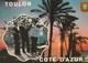 TOULON (83)  - 3 Cartes -  Marins, Bateaux, La Rade .... - Draguignan