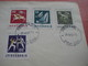 15 First Day Covers Olympic Games  - Collection Envelopes Jeux Olympique - PREMIERE Jour  1956 1960 1964 1968  1972 1976 - Olympische Spelen
