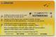 CARTE-PREPAYEE-GSM-LIBERTIS-GABON-5000F-CFA-PROVINCE OGOOUE IVINDO-31/12/2001-TBE - Gabon