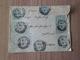 Lettre Rochefort Sur Mer Le 29/10/1905 à Gottingen (D) Le 31/10/1905 Les N° 107 X5 (2 Paires+1) Le N°111x4 Paire +2 B/TB - 1900-29 Blanc
