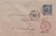 """INDOCHINE  :  """" CORRESPONDANCE  DES  ARMEES  -  SAIGON  """"  1893 -  SUR ENTIER SAGE 15 C . SUPERBE . (  2 SCANS R° V° ) . - Lettres & Documents"""