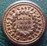 Rare Bouton D'uniforme De La GARDE NATIONALE Du District De CASTELSARRASIN « La Loi Et Le Roi », Révolution 1790 - Buttons
