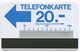 1638 - Testgebiet Telefonkarte - Autelca Blau - Suisse