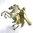 FIGURINE SEIGNEUR DES ANNEAUX GANDALF LE BLANC On HORSEBACK PLAY ALONG 2003 Incomplet - Harry Potter