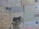 ### LOT LETTRES ET MARQUES POSTALES ###   XVIII -> XX ème - 13 Scans - France