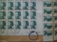 Lettre Recommandée St Pierre Le 15/7/1987 à La Bouilladisse 21/7/1987 N°470;471 X 3 ; 474 X 2 Et 455 X 170 Blocs CD  +TB - Lettres & Documents