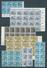 All Besetzung Lot Bogenteile Postfrisch (12727) - Gemeinschaftsausgaben