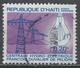 Haiti 1969, Scott #C338 (U) Power Lines And Light Bulb - Haïti