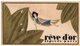 REVE D OR  PIVER PARIS   CARTE PARFUMEE CALENDRIER AU VERSO 1928 - Duftkarten