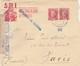 ESPAÑA 1938  Carta Del S.R.I.  AZAILA / TERUEL  144  Brigada Mixta 44 DIVISION  Hasta Paris   EL530