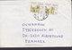 Sudan EMBASSY Of GREECE, KHARTOUM Cover Brief ALBERTSLUND Denmark 2x Bohein Temple Stamps (2 Scans) - Sudan (1954-...)