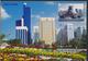 °°° 3950 - UNITED ARAB EMIRATES - VIEWS OF ABU DHABI - With Stamps °°° - Emirati Arabi Uniti