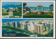 °°° 3951 - UNITED ARAB EMIRATES - VIEWS OF ABU DHABI CAPITAL - With Stamps °°° - Emirati Arabi Uniti