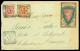 """DESTINAZIONE Nuova Caledonia, Lettera Spedita Da Perugia Il 14.3.1907 Affrancata Con """"floreale"""" C.10 + C.20... - Stamps"""