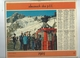 Calendrier PTT 42 Loire  1969 Photos Course Deauville 14 Et Telepherique Brevent 74 2 Scan 1,50 Frais Envoi F - Calendriers