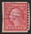 1914 US, 2c Stamp, Used, George Washington, Sc 453 - United States