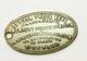 "Rare ! Jeton Grande-Bretagne ""The Empire Key Registry - 20 High Holborn London - 5/- Reward"" - Professionnels/De Société"