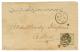 """""""SUEZ"""" : 1873 GB 6d Canc. B02 + SUEZ On Envelope To ADEN. Verso, ADEN STEAMER POINT. Vf. - Grande-Bretagne"""