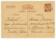 TAHITI : 1940 CARTE INTER ZONE De LANDERNAU Pour ATUANA ILES MARQUISES. Rare. Superbe. - France (former Colonies & Protectorates)