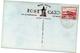 Tarjeta Postal  Circulada 1943. Stamps Jersey Postage.  Devil's Hole. - Jersey