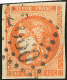 No 48b, Jaune Orange, Obl Gc. - TB