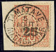 No 3, Obl Cad Tamatave, Sur Son Support. - TB - Madagascar (1889-1960)