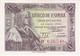 BILLETE DE 1 PTA DEL 15/06/1945 ISABEL LA CATOLICA SERIE D SIN CIRCULAR-UNCIRCULATED (BANK NOTE) - 1-2 Pesetas