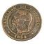 Deux Centimes - Napoléon III   - France - 1854 A - Paris -  Bronze - TTB - - France