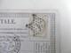 Carte Postale Précurseur Avec Cérès N°55 étoile De Paris 4 - Entiers Postaux