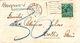 Brief Nach Mollis, Austaxiert (br0576) - Taxe