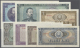 Romania / Rumänien: Set Of 7 Different Notes Containing 1, 3, 5, 10, 25, 50 And 100 Lei 1966 P. 91a-97a, The 3 And