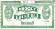 Jim Kelley's Nugget Casino - Reno, NV - 5.5 X 3 Inch Paper Lucky Bet Coupon - Advertising