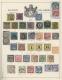 """Alle Welt: 1840/1890; Ein wunderbares altes """"Schaubeks Briefmarken Album"""" in phantastischer Erhaltung beinhaltet eine UN"""