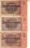 Banconota_Banconote_Lotto Di 3 Biglietti RENTENBANKSCHEIN_2 RENTEN'MARK_Serie  -Originale 100% - [ 4] 1933-1945 : Terzo  Reich