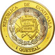 Guatemala, Quetzal, 1995, Tower, SPL, Tri-Metallic, KM:1c.1 - Guatemala