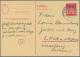 Bundesrepublik - Ganzsachen: 1948/1972. Mit Bizone. Lohnende Sammlung Von 44 Postkarten Und LP-Faltbriefen, Gebraucht Un