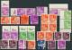 Bizone: 1948, Meist Postfrische Partie Von 31 Bauten-Marken Mit Markanten Abarten, Ungezähnt/teilgezähnt/verz& - Zone Anglo-Américaine