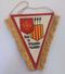 Ancien Fanion De Football - Ligue Du Languedoc Roussillon - FFF - Habillement, Souvenirs & Autres