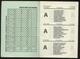 CALENDARIO CALCISTICO 1990-91 DA SERIE A FINO ALLA C2 - 24 PAGINE INTERNE( Cm12,3 X 8,5) PUBBLICITA VINI RUVO DI PUGLIA - Formato Piccolo : 1991-00