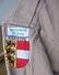 Antique Austria Scout Shirt Khaki - 4 Patches & Brass Buttons - Scouting