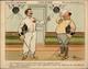 CHROMOS - Pub Pour Alcool RICQLES - Escrime - Illustré Par GUILLAUME - Chromos